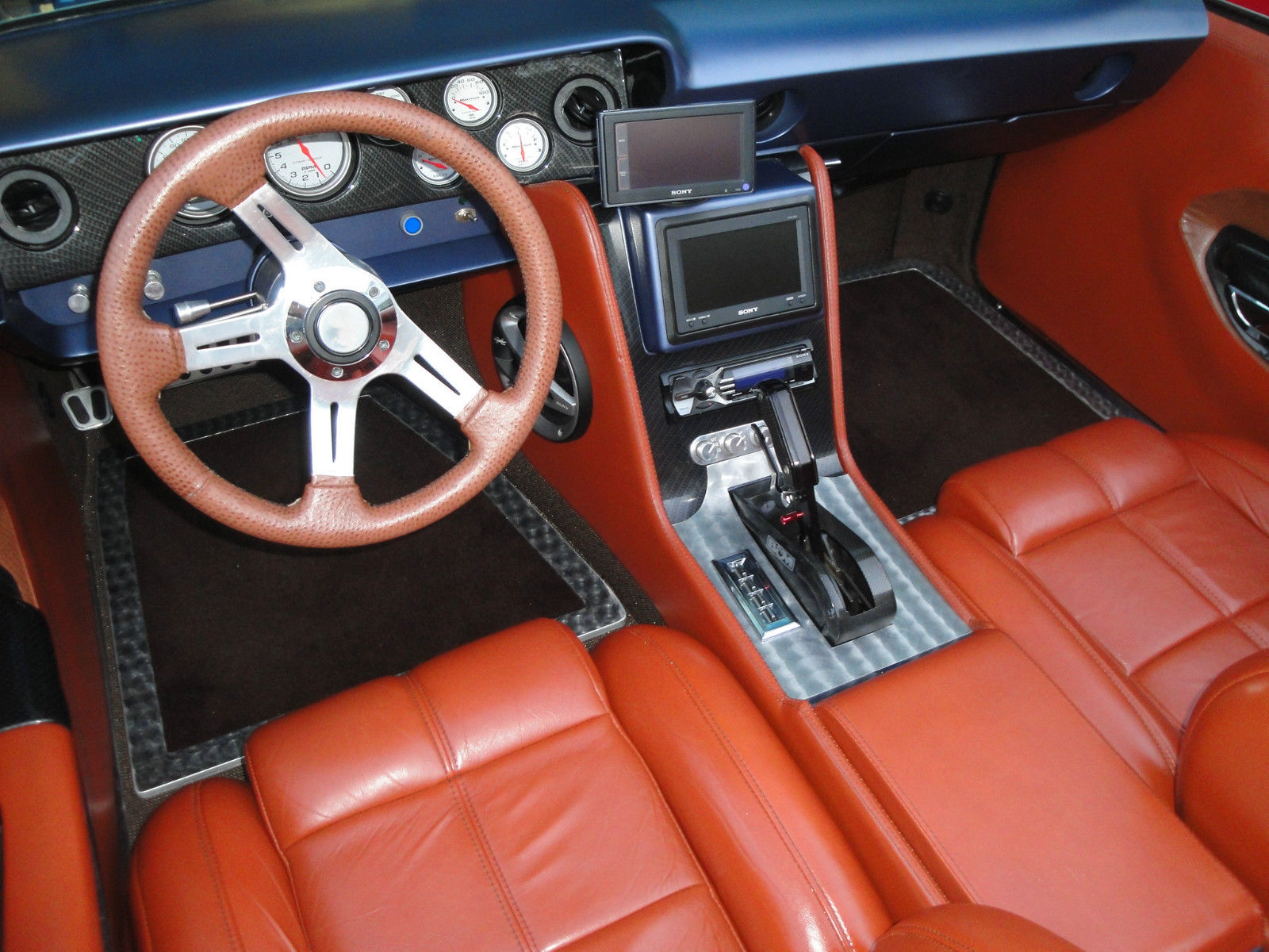 Interior: Pro Touring 1970 Barracuda On EBay