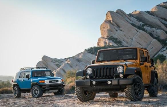 2014-Jeep-Wrangler-Willys-Toyota-FJ-Cruiser