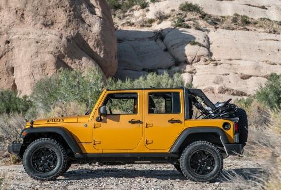 2017 Jeep Wrangler S Side