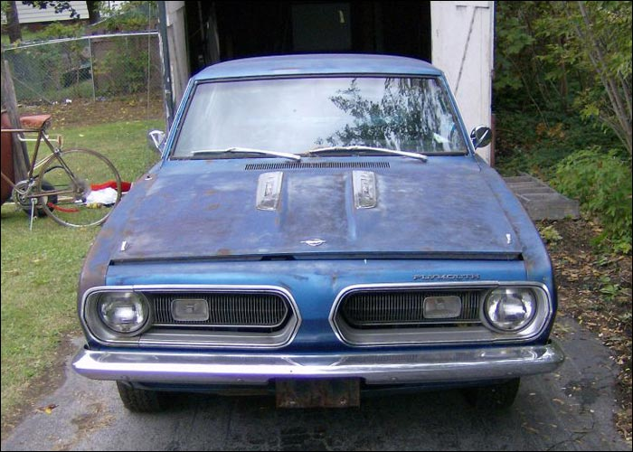 1968 Plymouth Barracuda Formula S Front