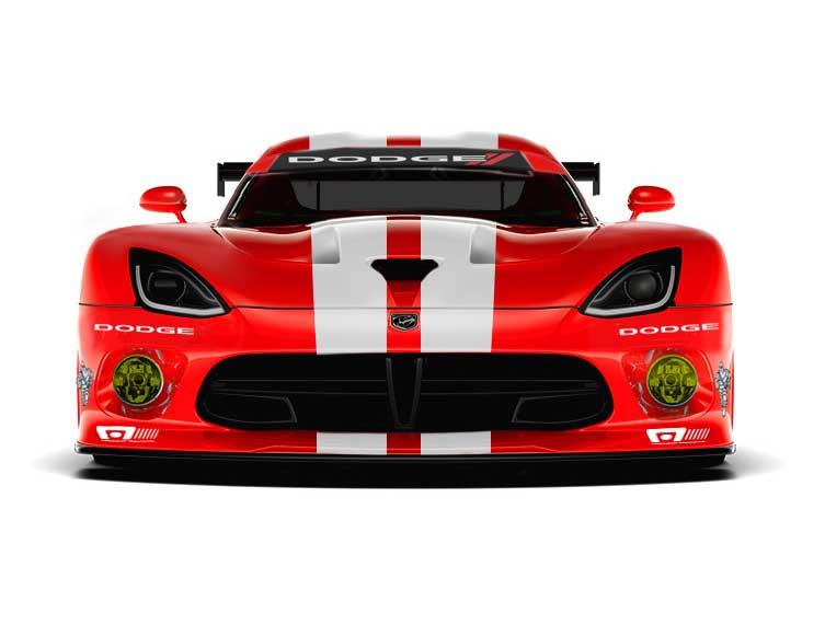 2014 Dodge Viper SRT GTS R Front