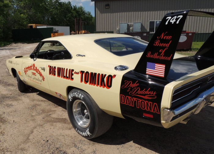 Big Willie Robinson S Charger Daytona Mopar Blog