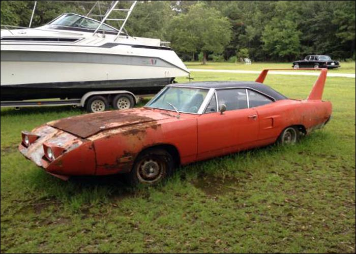 Watch additionally Concept Cars together with Sale furthermore Ford Logo also Barn Find 1970 Plymouth Superbird On Craigslist. on old cars found in field