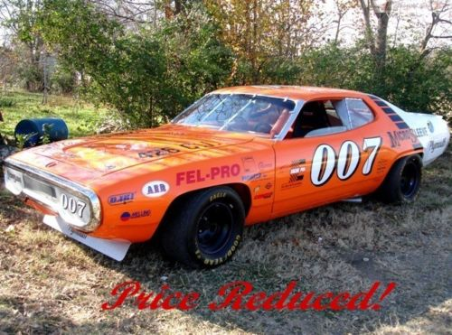 1971-Plymouth-Road-Runner-NASCAR-3qtr