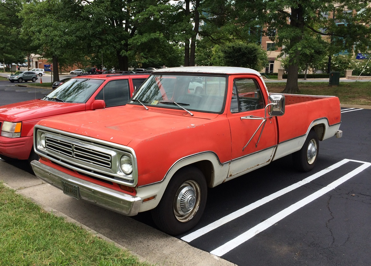 Survivor 1972 Dodge D100 | Mopar Blog