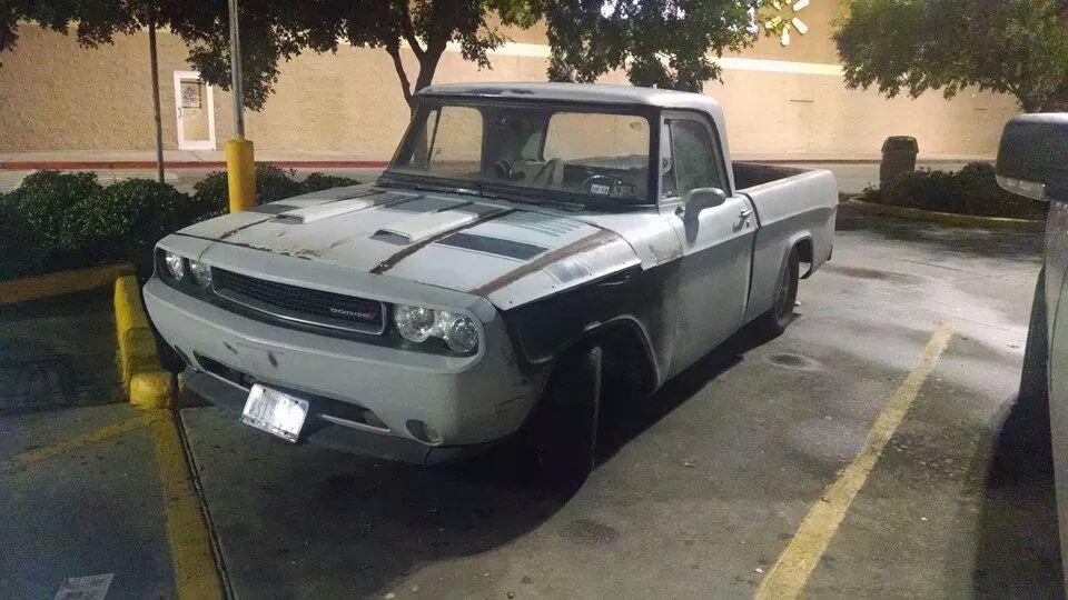 Dodge-Sweptline-Challenger-Frankenstein