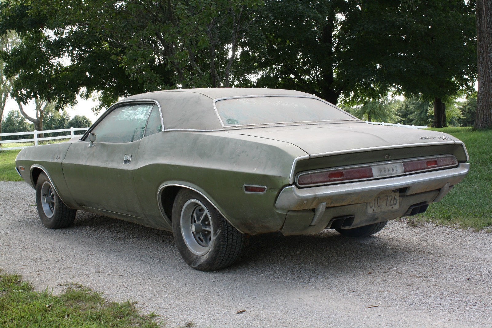 1970 Dodge Challenger R T Barn Find On EBay