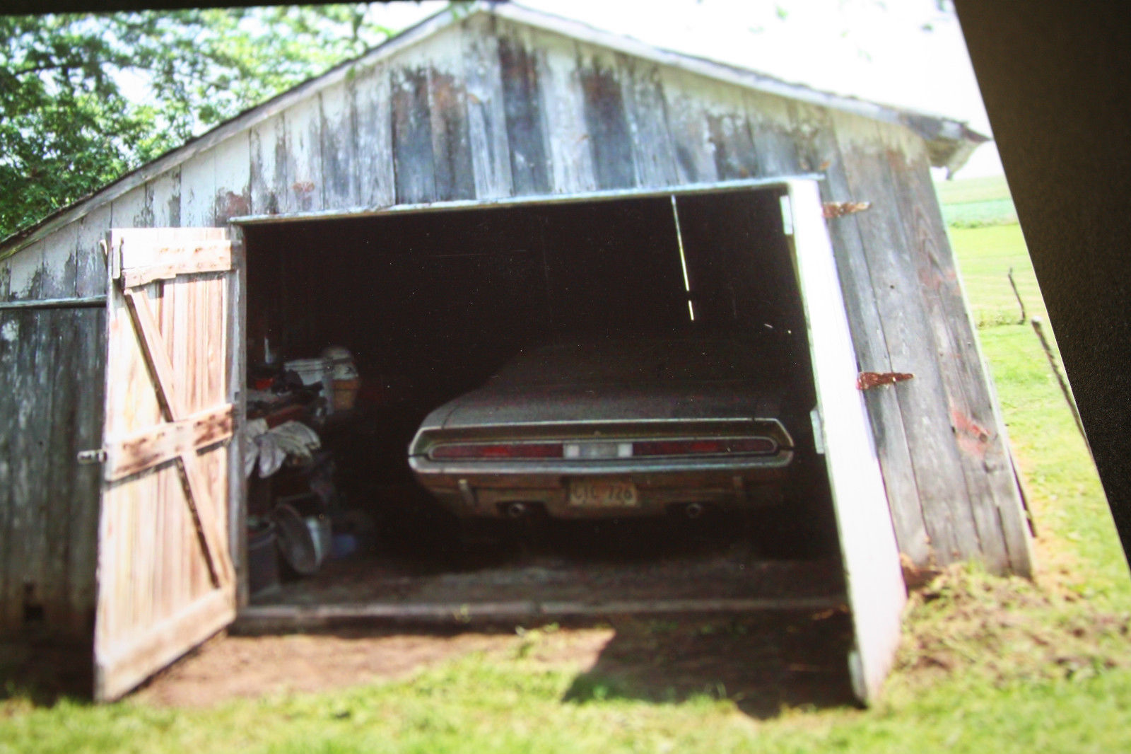 1970 Dodge Challenger RT Barn Find