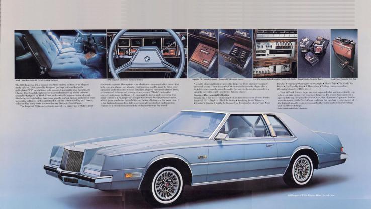 Frank Sinatra Edition 1981 Chrysler Imperial Mopar Blog