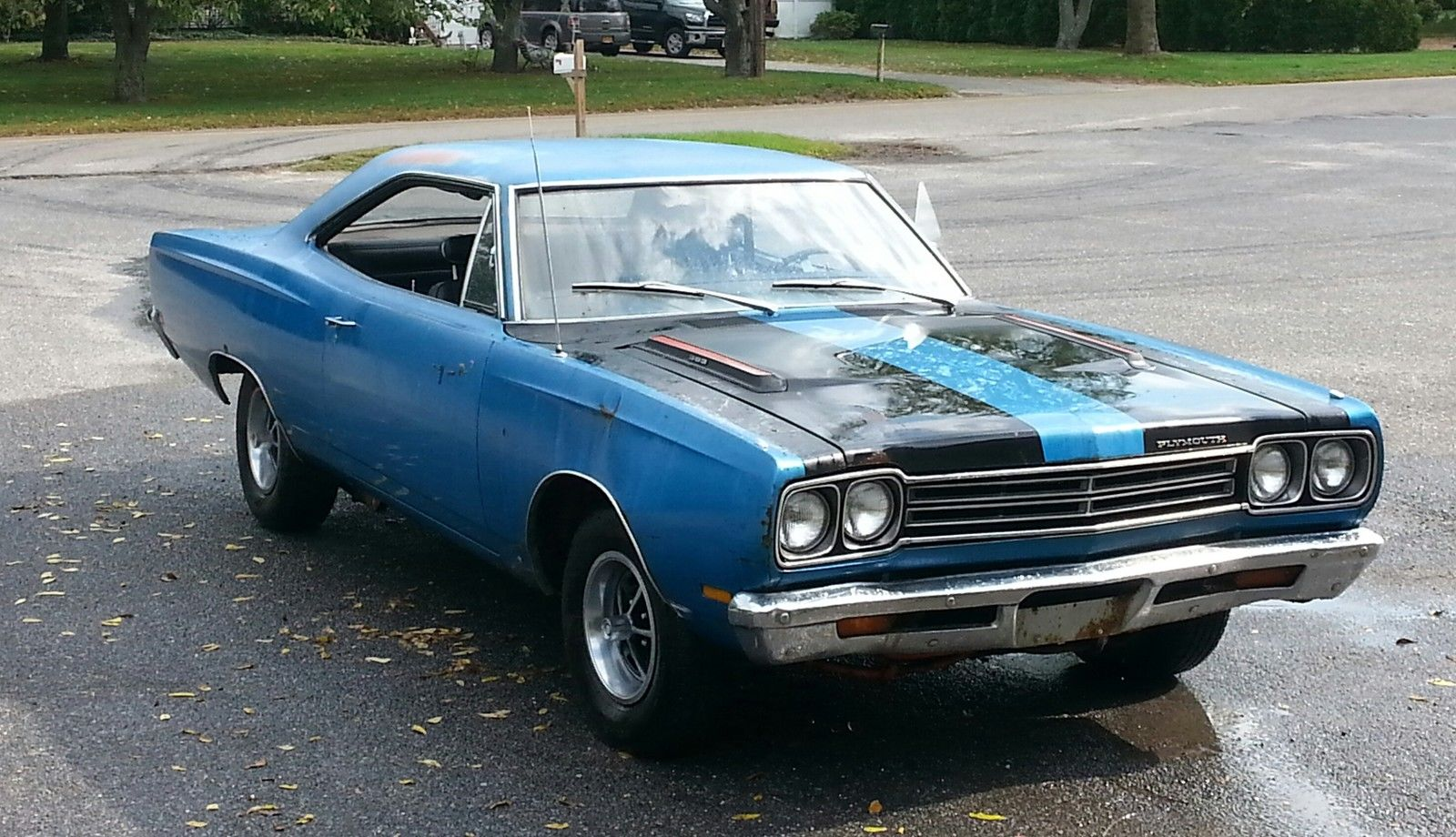 B5 blue 1969 plymouth road runner 1
