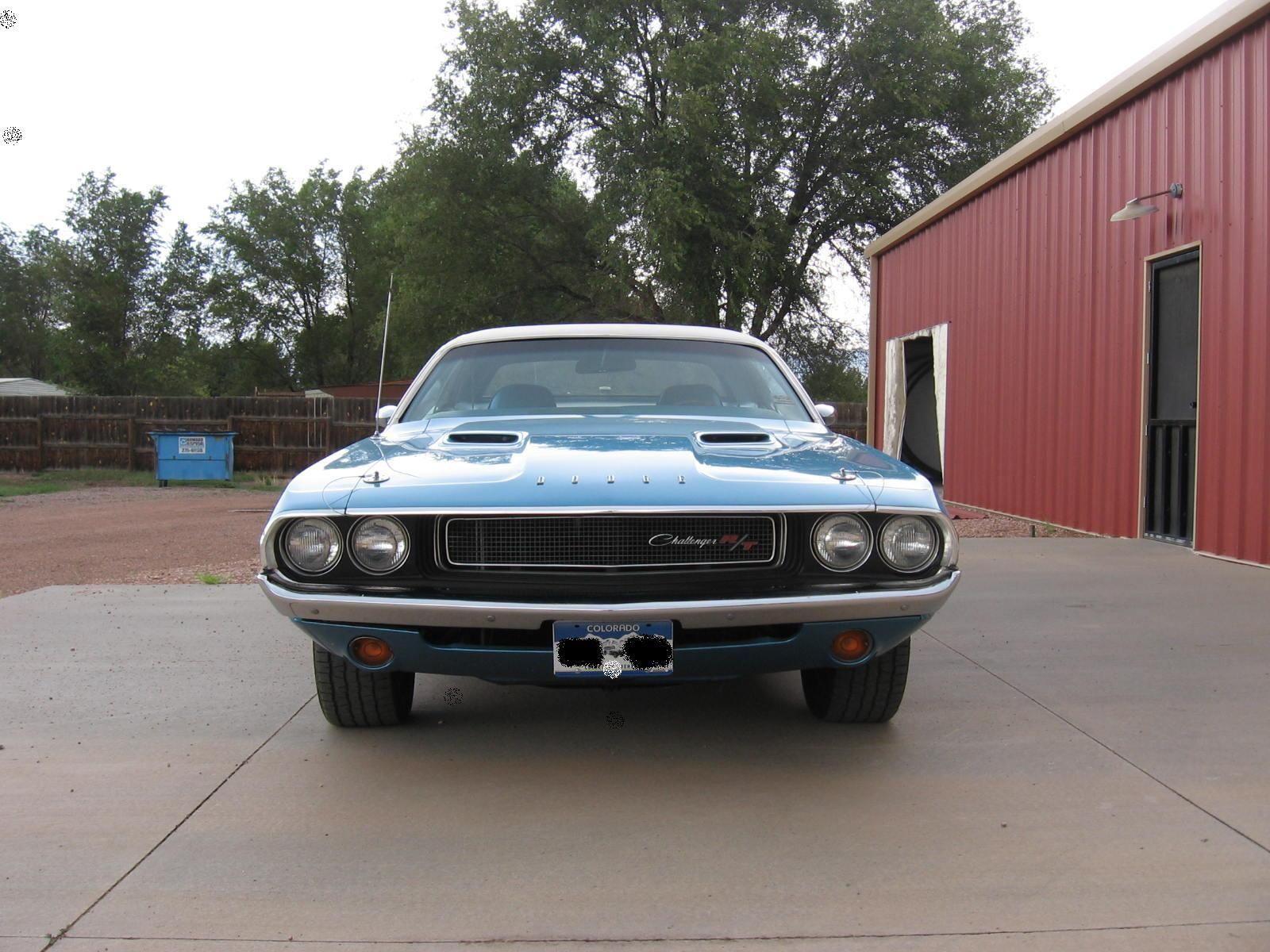 B5 Blue 1970 Dodge Challenger R T On Ebay Mopar Blog