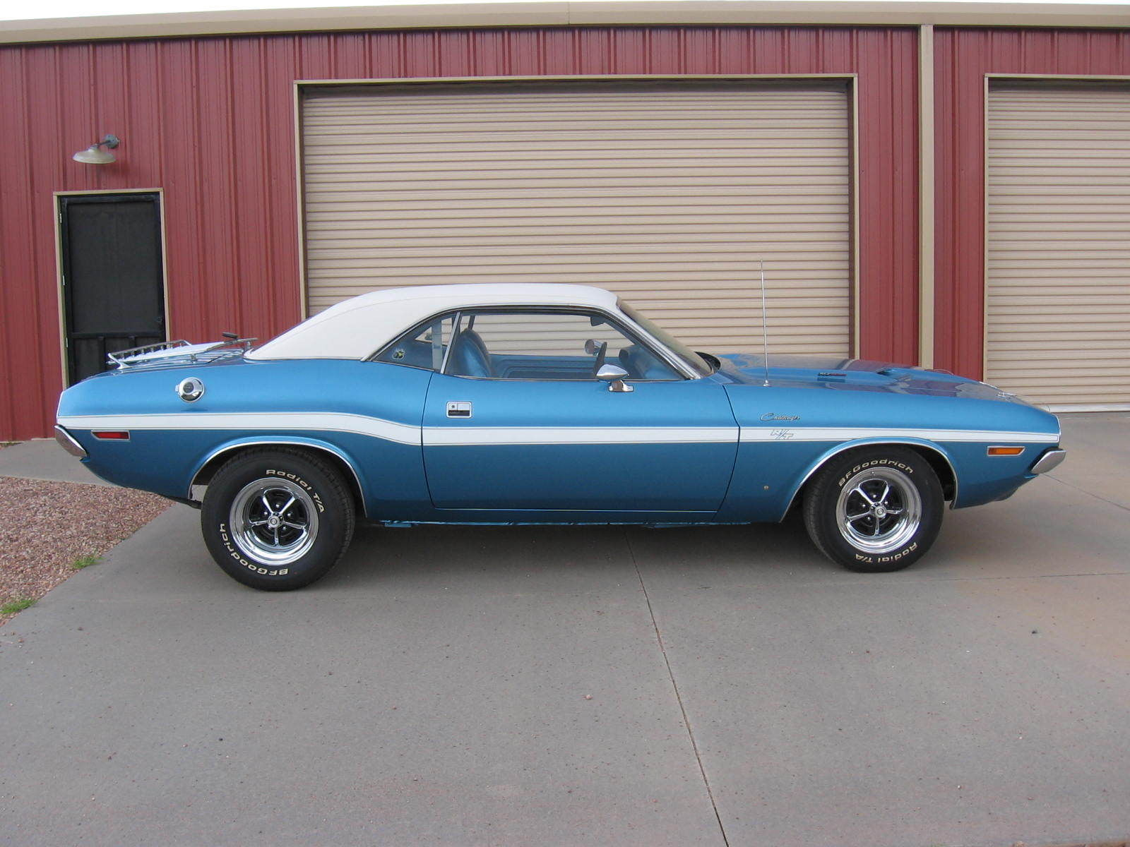 B5 Blue 1970 Dodge Challenger R T On Ebay Mopar Blog