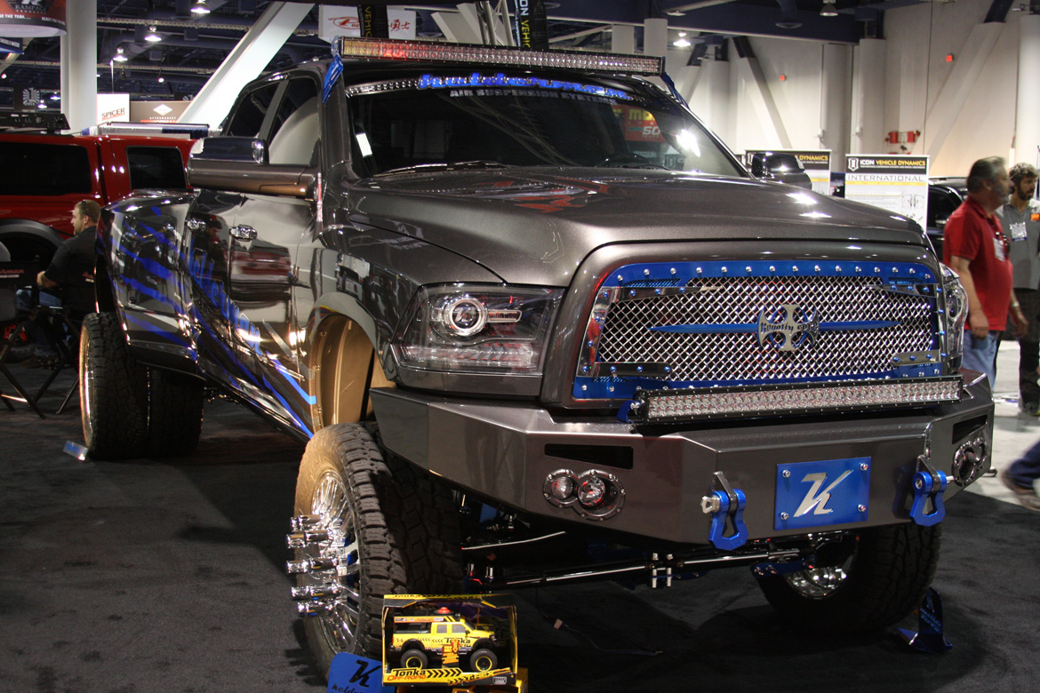 Mopar Trucks At Sema Mopar Blog