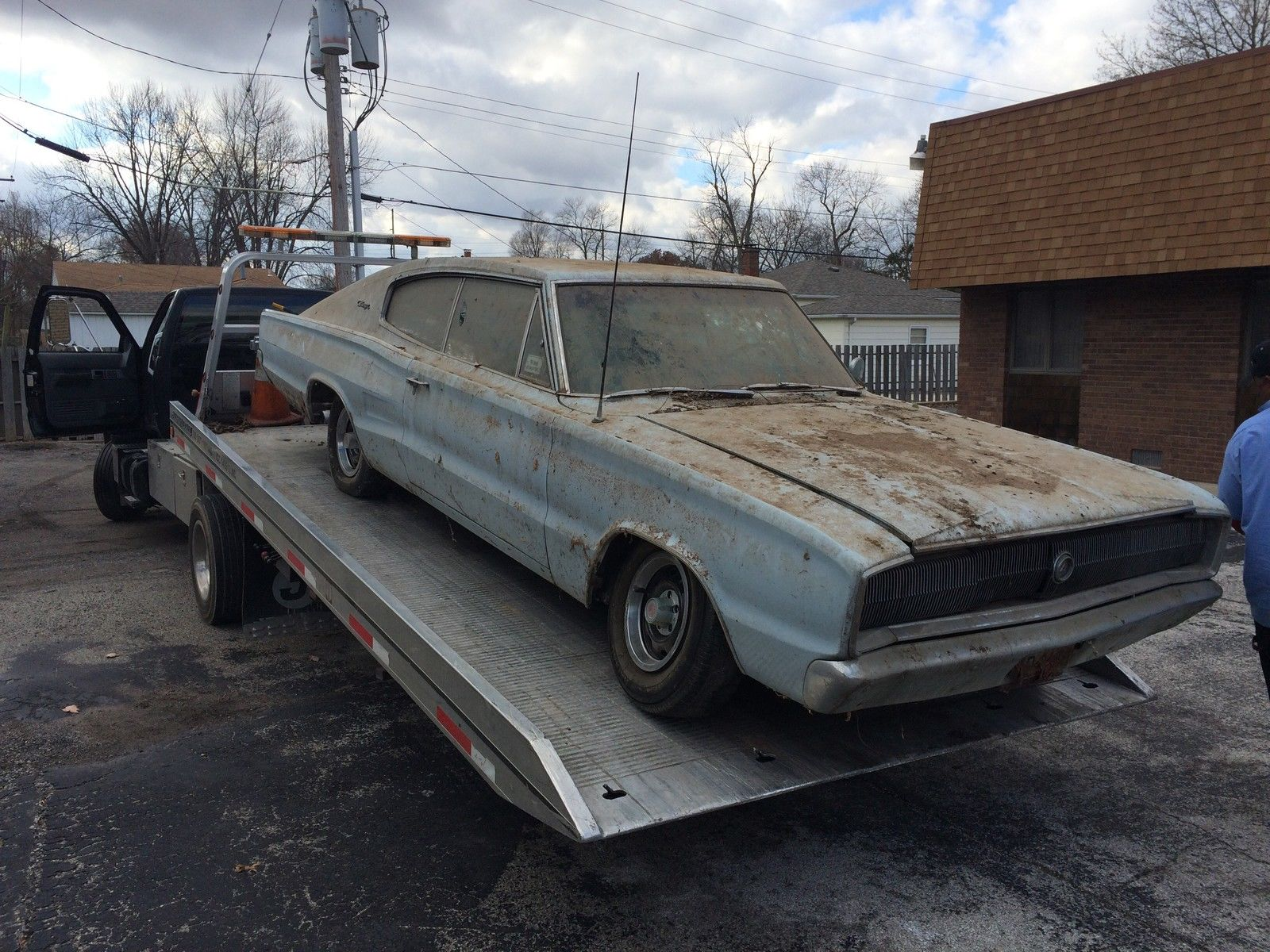 Barn find 1966 charger mopar blog