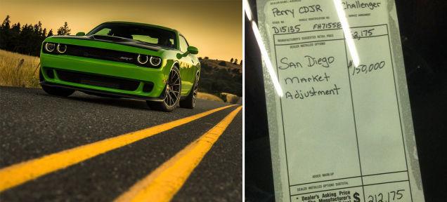 Dodge Dealership San Diego >> The Hellcat $150,000 Dealer Mark Up was Real. Sorta ...