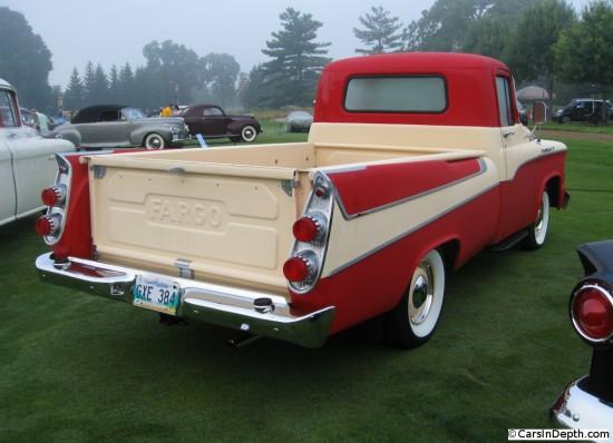 Dodge and Fargo Sweptside Pickups