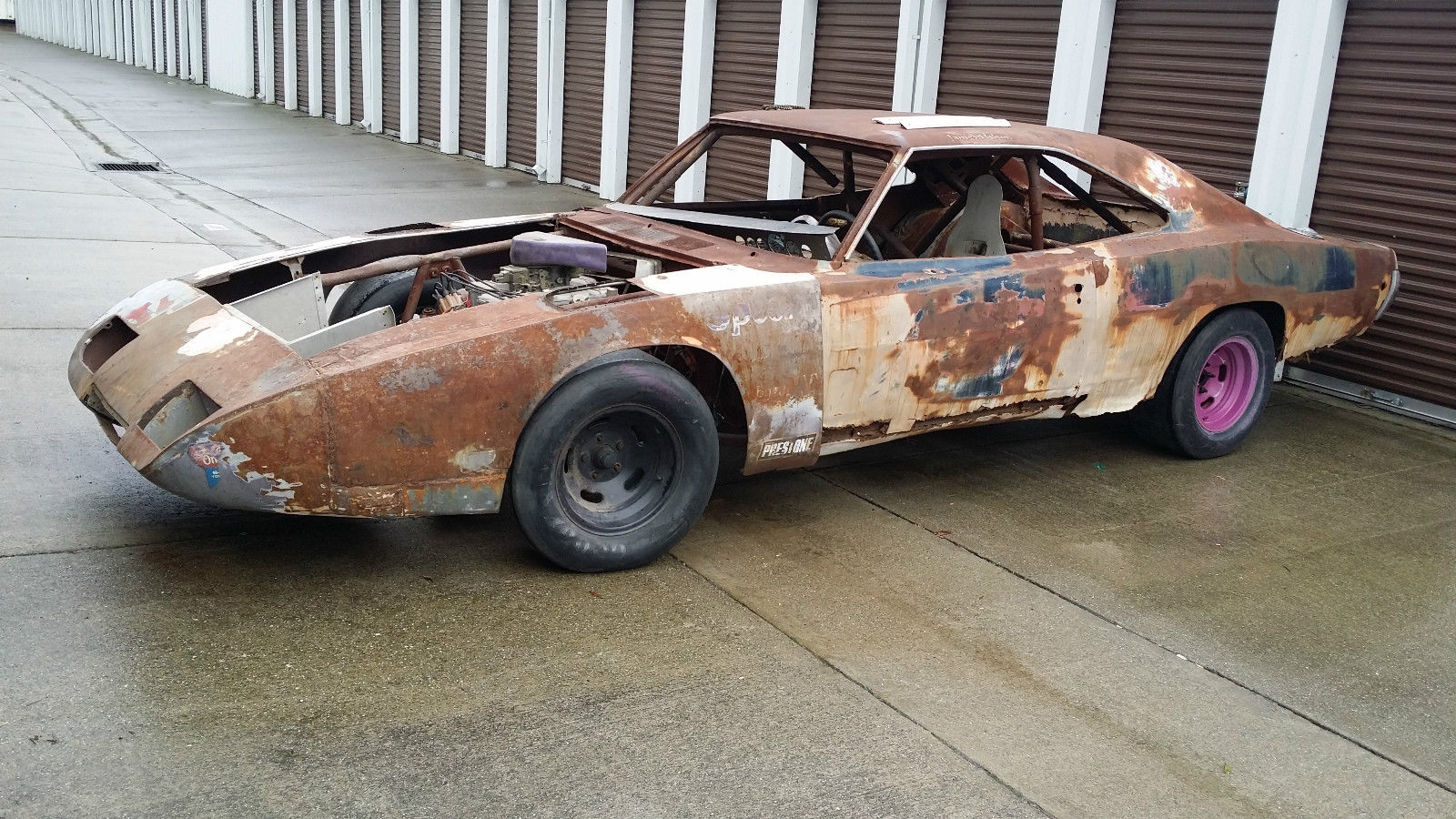 James Hylton\'s 1969 Dodge Daytona Stock Car on eBay | Mopar Blog