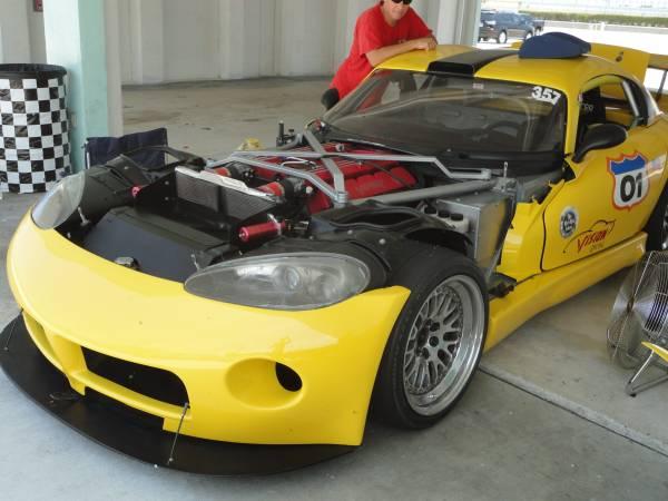 dodge viper prototype gt  race car  craigslist mopar blog