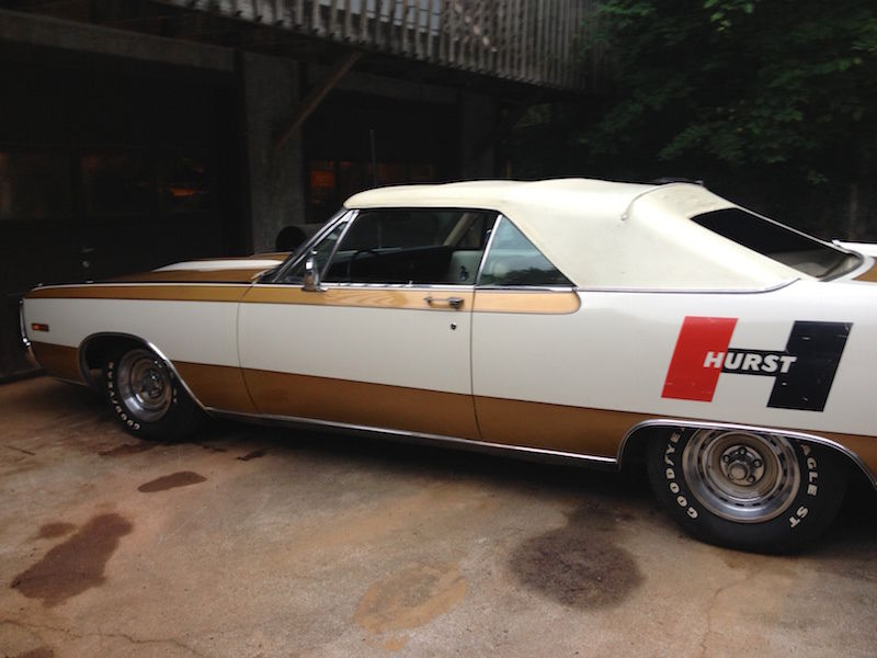 1970 Chrysler 300 Hurst Convertible On Ebay Mopar Blog