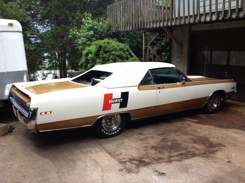 1970 Chrysler 300 Hurst Convertible on eBay | Mopar Blog