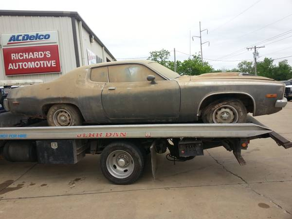 1973 Plymouth Road Runner on Craigslist | Mopar Blog