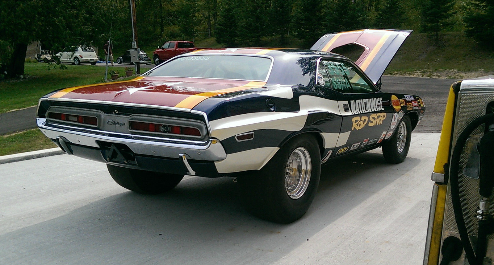 "1971 ""Rod Shop"" Challenger on eBay 