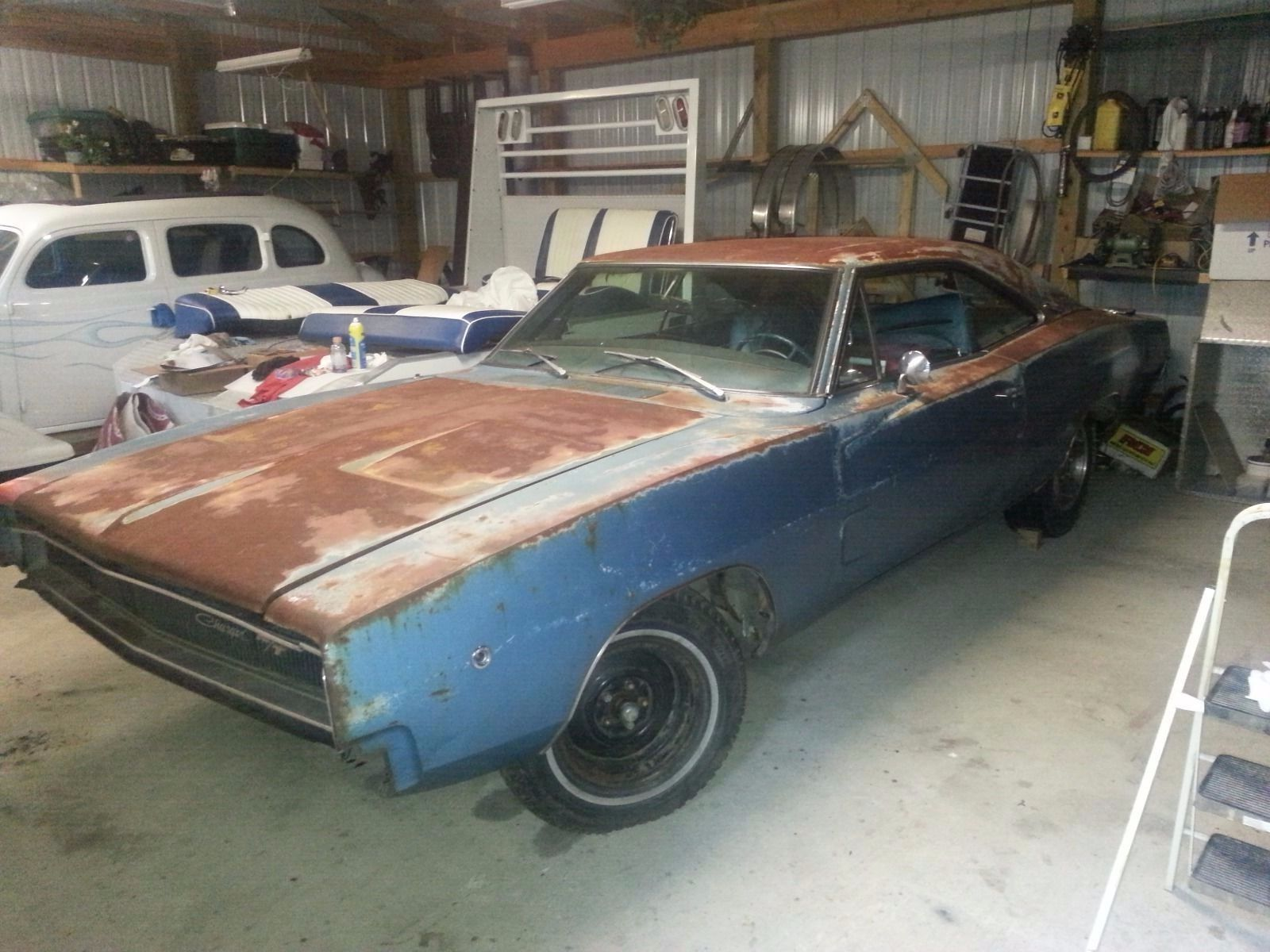 Project 1968 Dodge Charger on eBay | Mopar Blog