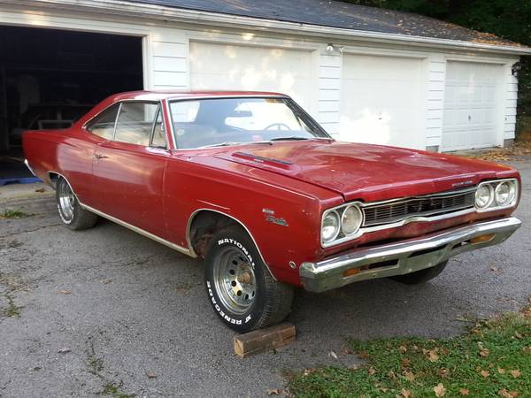 Big Block 1968 Plymouth Sport Satellite Project Car On Craigslist Mopar Blog