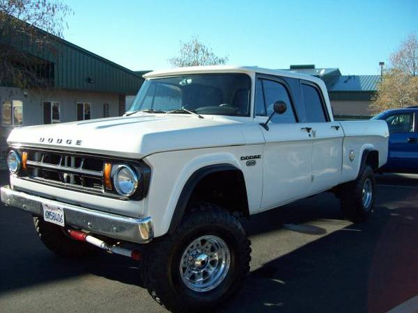 Customized 1968 Dodge Crew Cab on Craigslist | Mopar Blog