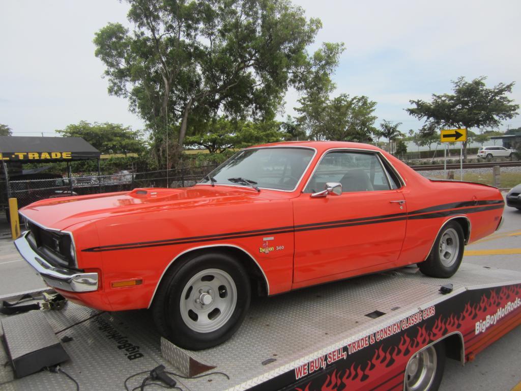 Dodge Challenger For Sale >> 1971 Dodge Demon El Camino Conversion on eBay   Mopar Blog