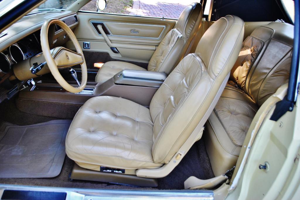 cordoba chrysler 1977 convertible interior