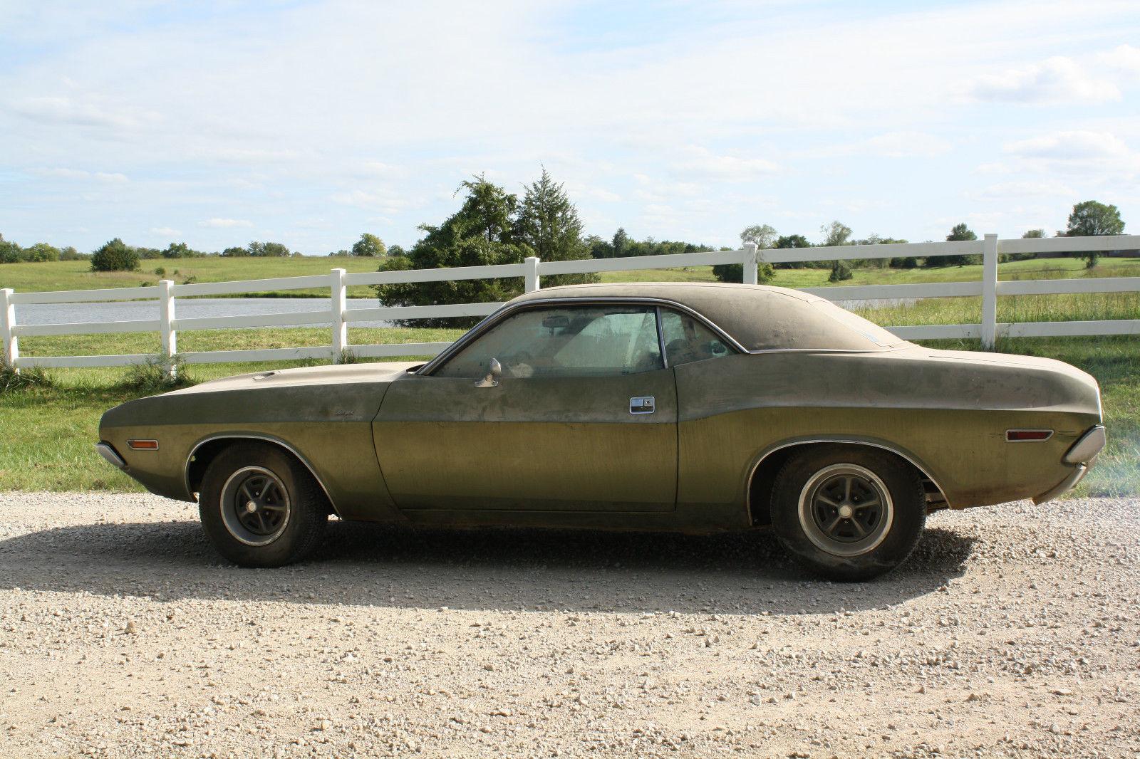 Dodge Hellcat For Sale >> 1970 Dodge Challenger R/T Barn Find on eBay | Mopar Blog