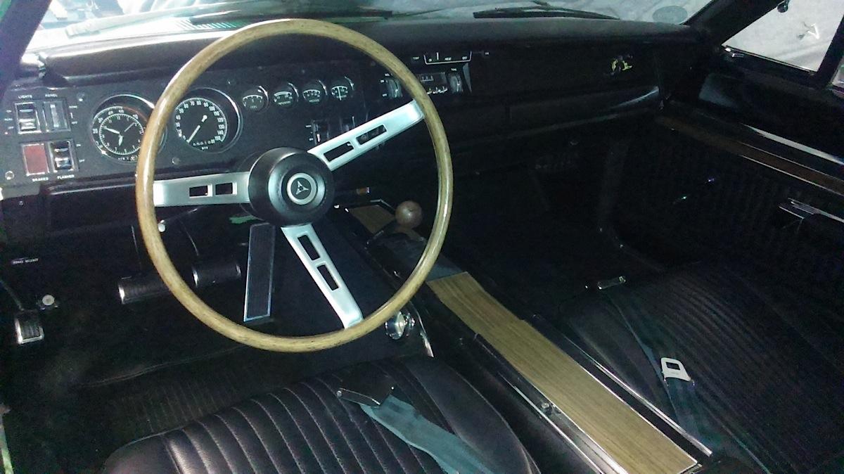 bee super dodge interior 1969 a12 mopar restored