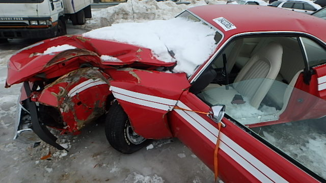 Dodge Near Me >> Wrecked Challenger Went to Auction | Mopar Blog
